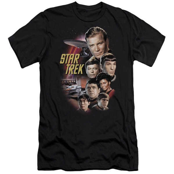 St Original/The Classic Crew Short Sleeve Adult T-Shirt 30/1 in Black