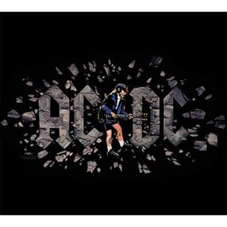 Stephen Fishwick AC/DC 'Those About to Rock' Canvas Wall Art