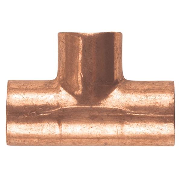 """Elkhart Products 111 1/2"""" 1/2"""" C X C X C Copper Tees"""