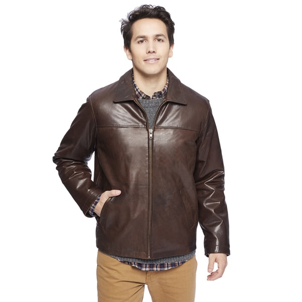 Wilda Brown New Zealand Lambskin Jacket