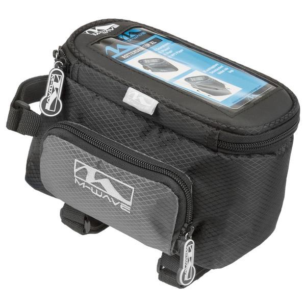Ventura Rotterdam Black Nylon Smartphone Top Tube Bag