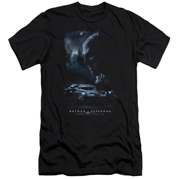 Batman V Superman/Gotham Knight Short Sleeve Adult T-Shirt 30/1 in Black