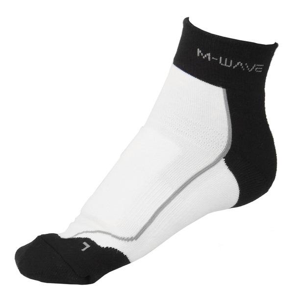 Ventura White Performance MTB Sock