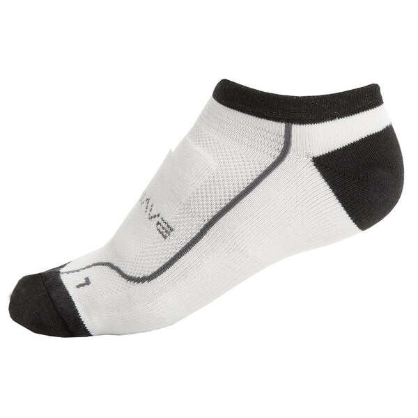 Ventura Performance White Fabric Road Socks