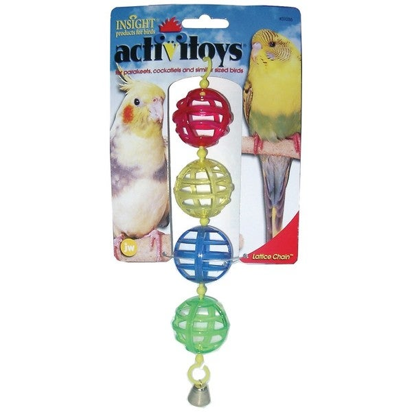 JW Pet Activitoy Lattice Balls Bird Toy