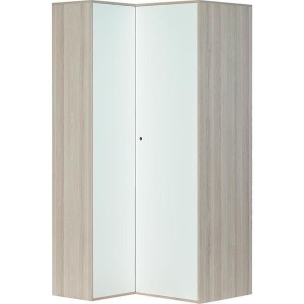 Voelkel Spot Collection White/Grey Corner Wardrobe