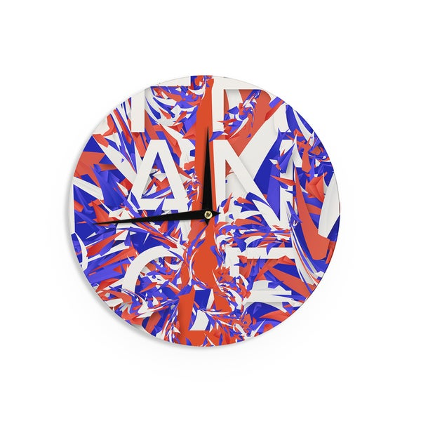 KESS InHouse Danny Ivan 'France' World Cup Wall Clock