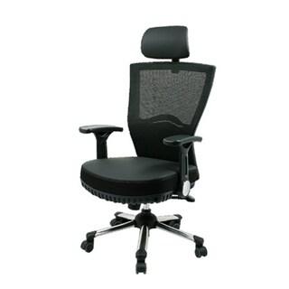 Max Pocket Black Mesh Spring Office Chair