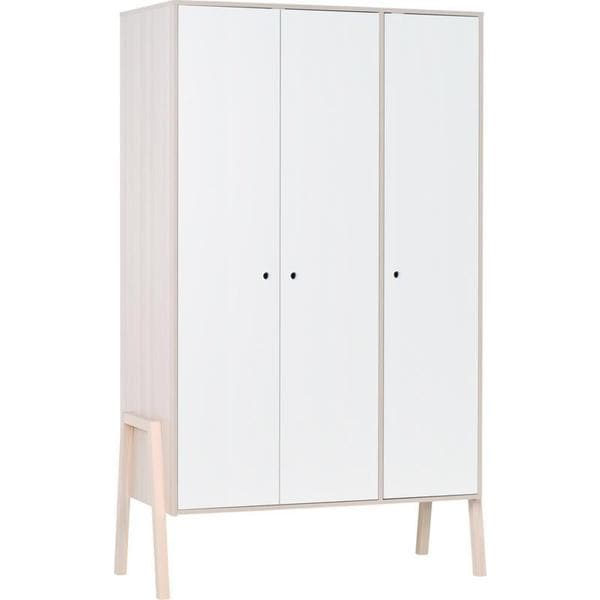 Voelkel Spot Collection White Pine 3-door Wardrobe