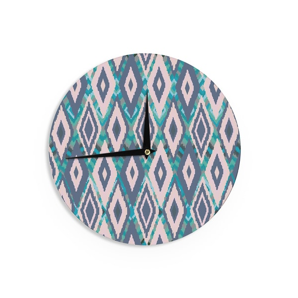 KESS InHouse Vasare Nar 'African Motif' Wall Clock
