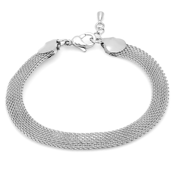 18k Goldplated Mesh Bracelet