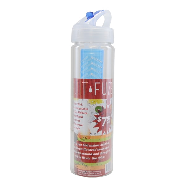 Fruit Fuze Clear Plastic Water Bottle