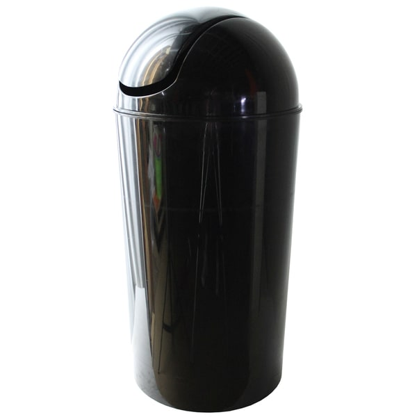 Dial Industries E2056KM 56 Quart Metallic Black Swing Bin