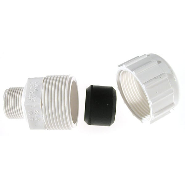 "B And K Industries 161-104 3/4"" PVC Compression Male Adapters"