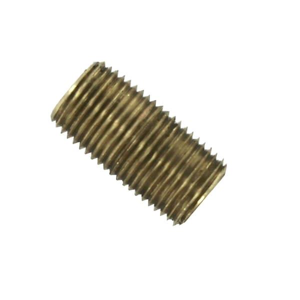 "Amc 736112-02 1/8"" Low Lead Brass Nipple"