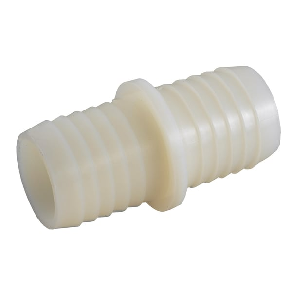 "Amc 53714-12 3/4"" White Nylon Hose Splice"
