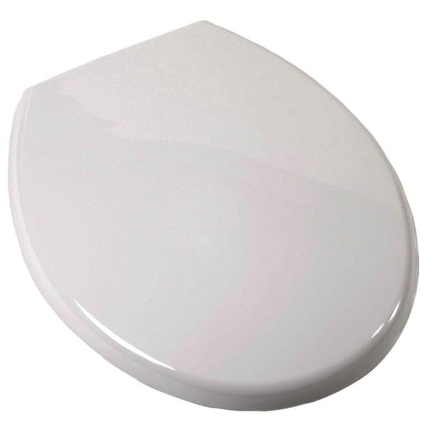 Plum Best C3B3R2-00 White Round Euro Toilet Seat