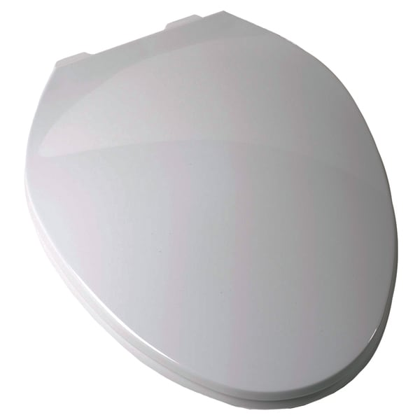 Plum Best C3B3E3-00 White Elongated Contemporary Toilet Seat
