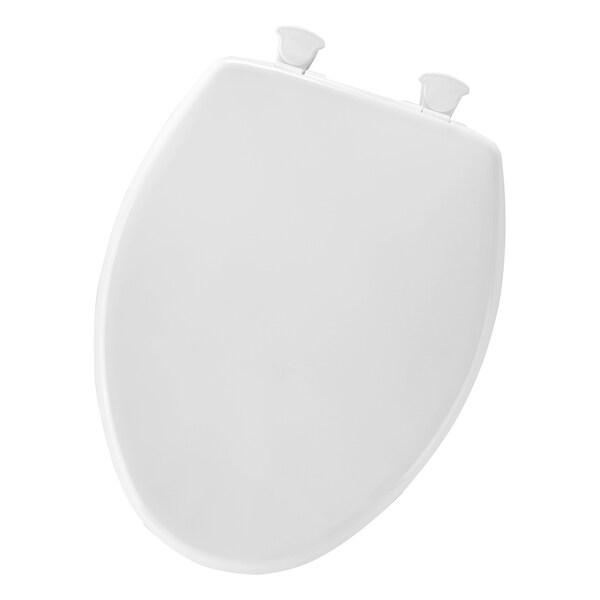 Mayfair 80EC 000 White Round Toilet Seat