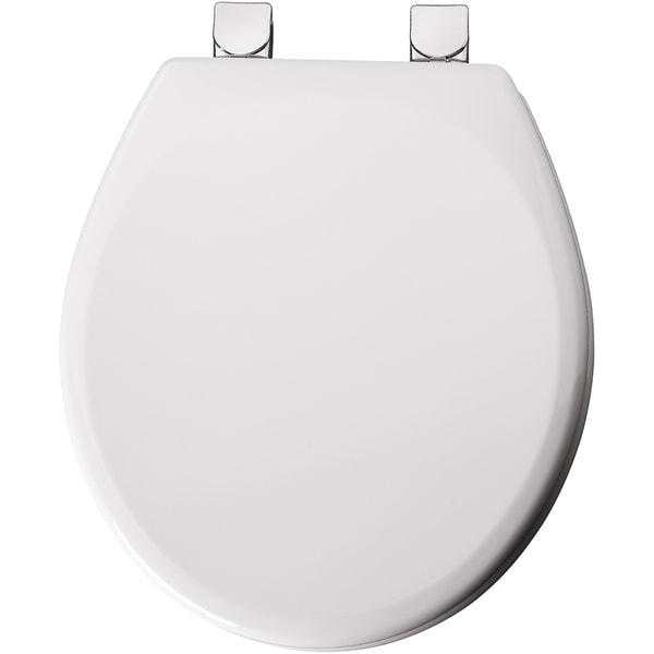 Mayfair 49CPEC-000 Round White Toilet Seat