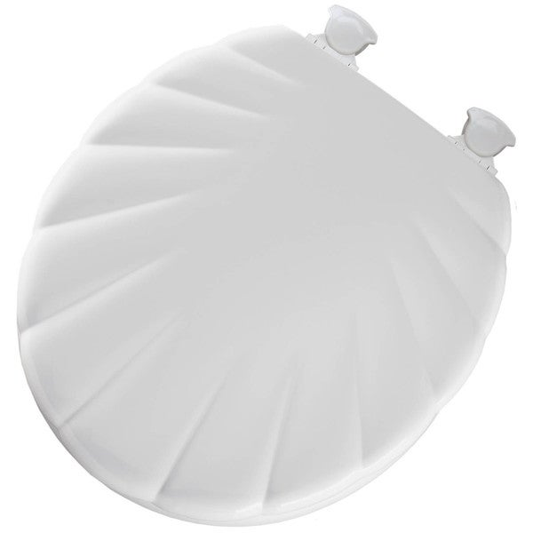 Mayfair 22EC-000 Shell Wood Toilet Seat