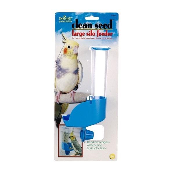 JW Pet Insight Large Silo Bird Feeder