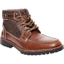 Men's Steve Madden Nummero Moc Toe Boot Cognac Leather