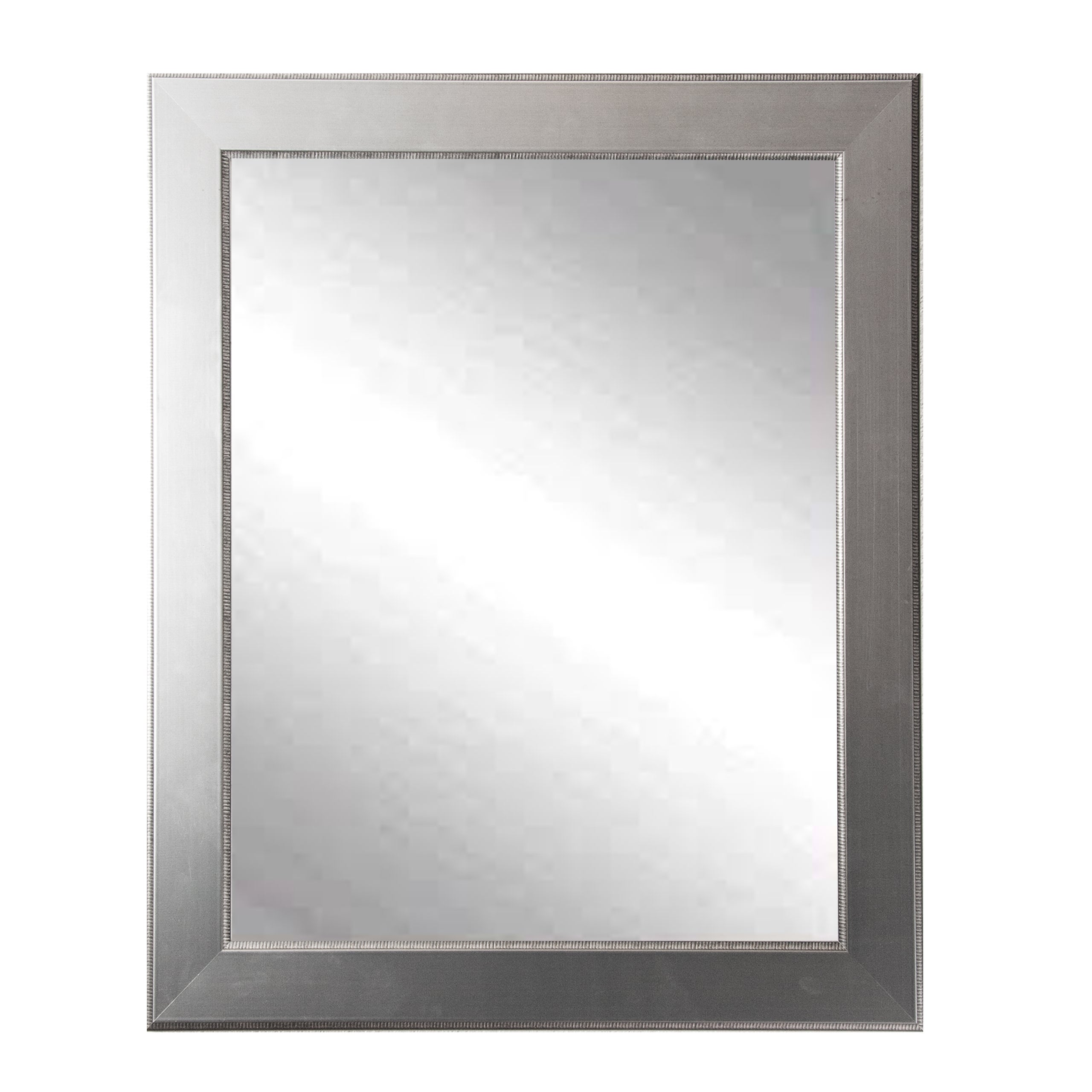 Mod Euro Silver Wall Mirror