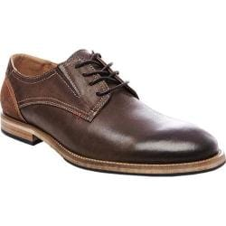 Men's Steve Madden Lectern Plain Toe Oxford Brown Nubuck