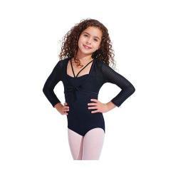 Girls' Capezio Dance Mackenzie Shrug Black