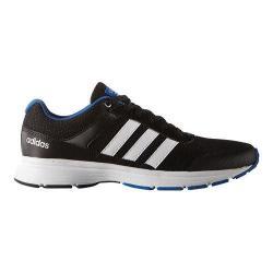 Men's adidas NEO Cloudfoam VS City Sneaker Black/White/Blue