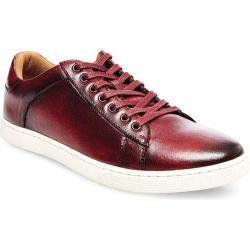 Men's Steve Madden Ringwald Sneaker Red Leather