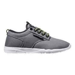 Boys' DVS Premier 2.0 Sneaker Charcoal/Lime Mesh