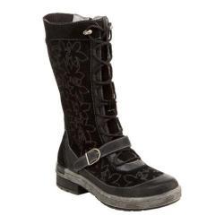 Women's Jambu Hawthorn Boot Black Suede/Burnished Leather