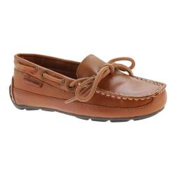 Boys' Cole Haan Grant Driver British Tan Leather