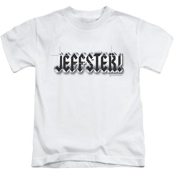 Chuck/Jeffster Short Sleeve Juvenile Graphic T-Shirt in White