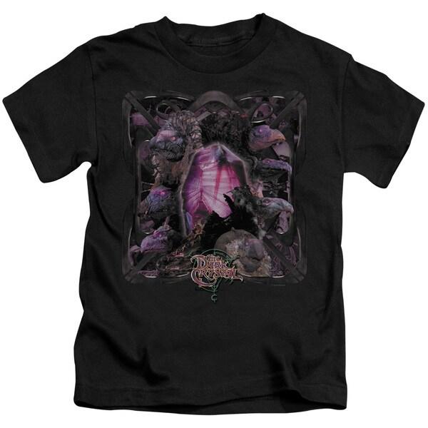 Dark Crystal/Lust For Power Short Sleeve Juvenile Graphic T-Shirt in Black