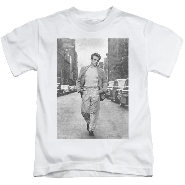 Dean/Walk The Walk Short Sleeve Juvenile Graphic T-Shirt in White
