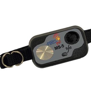 High Tech Pet MS-5 Black Ultrasonic Pet Collar