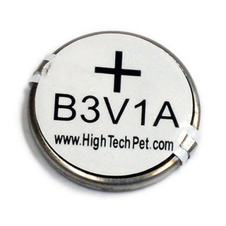 3-volt Custom Lithium Batteries for High Tech Pet MS-4 & MS-5 Collars (Pack of 2)