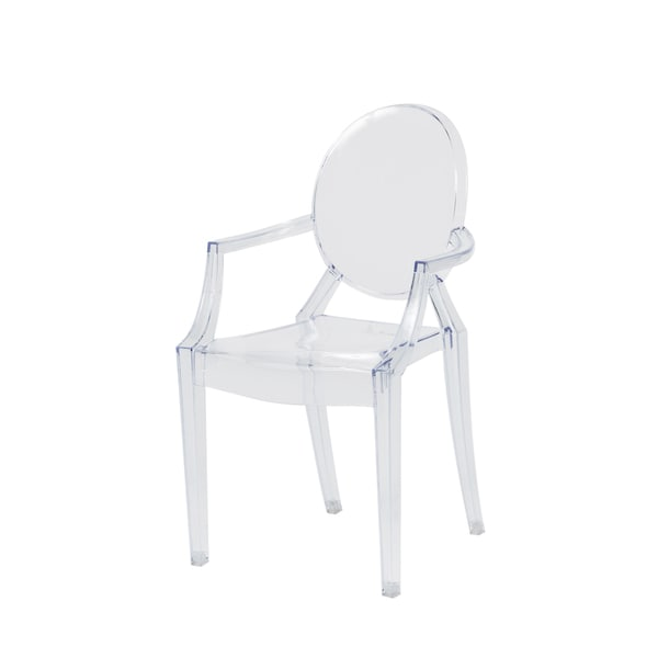 Baby Ghost Clear Polycarbonate Stackable Chair 20541631