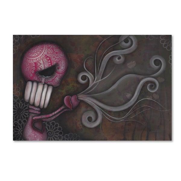 Abril Andrade 'Deception' Canvas Art