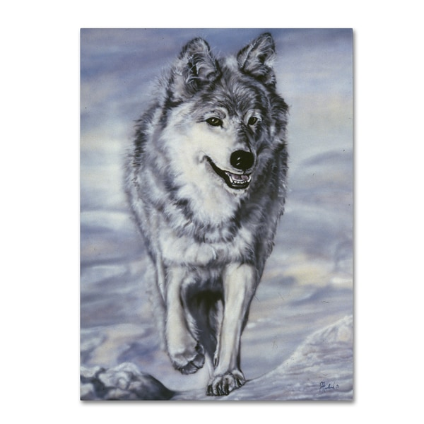 Jenny Newland 'Lord Of The Winterland' Canvas Art