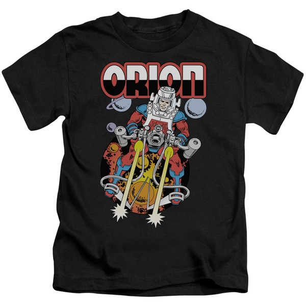 DC/Orion Short Sleeve Juvenile Graphic T-Shirt in Black