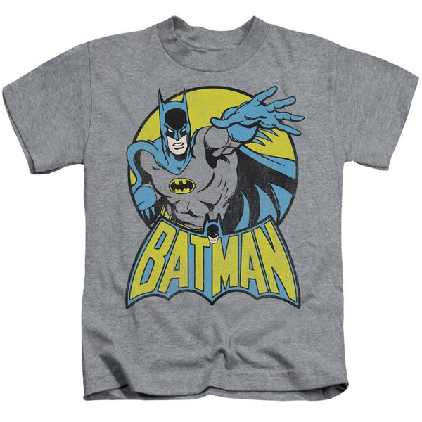 DC/Batman Short Sleeve Juvenile Graphic T-Shirt in Heather