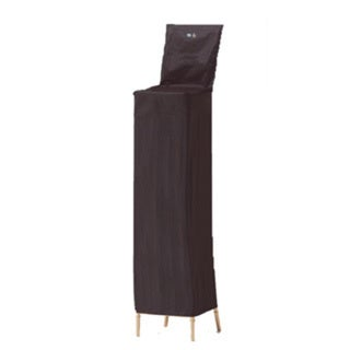 Chiavari Black Fabric Ballroom Chair Cover