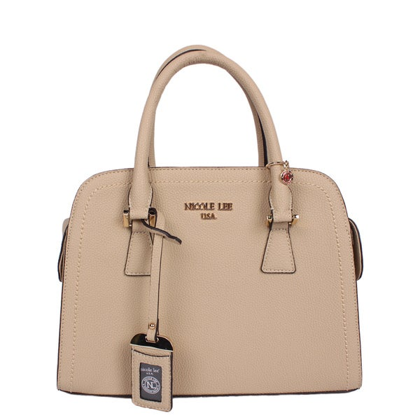 Nicole Lee Kiley Natural Satchel Handbag