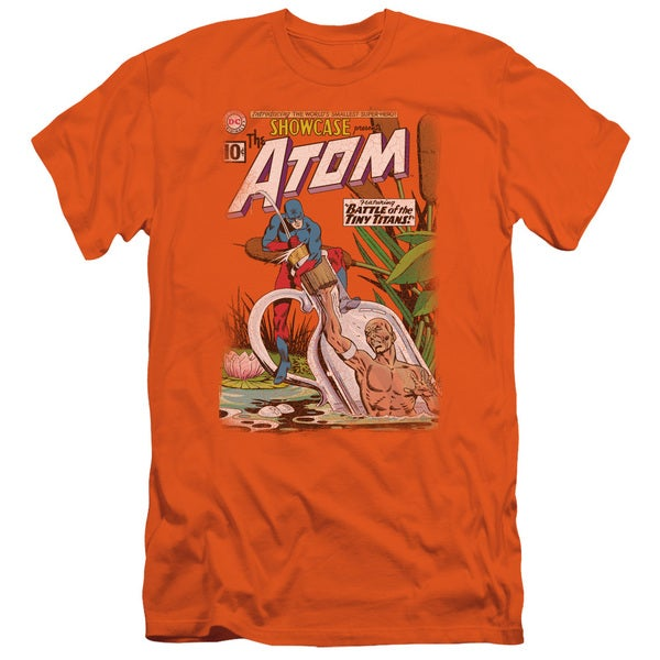 JLA/Showcase #34 Cover Short Sleeve Adult T-Shirt 30/1 in Orange