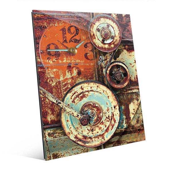 industrial Wheels' Acrylic Wall Art