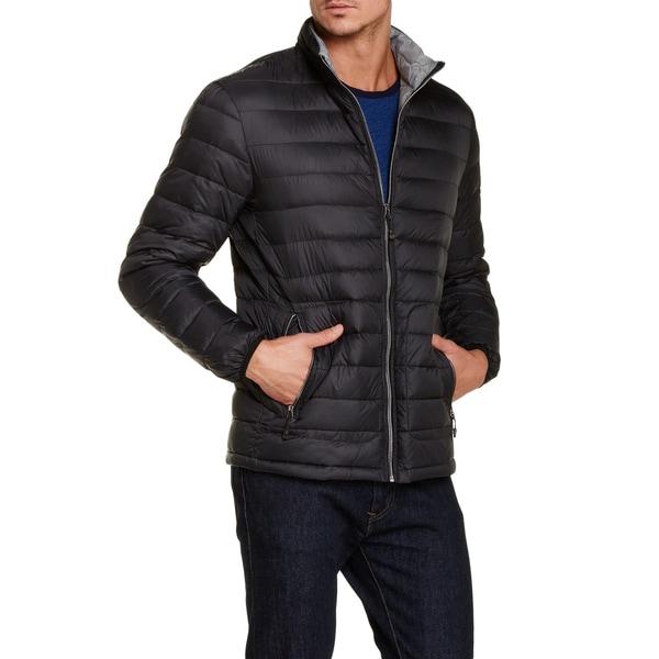 Buffaldo by David Bitton Black Down Packable Puffer Jacket